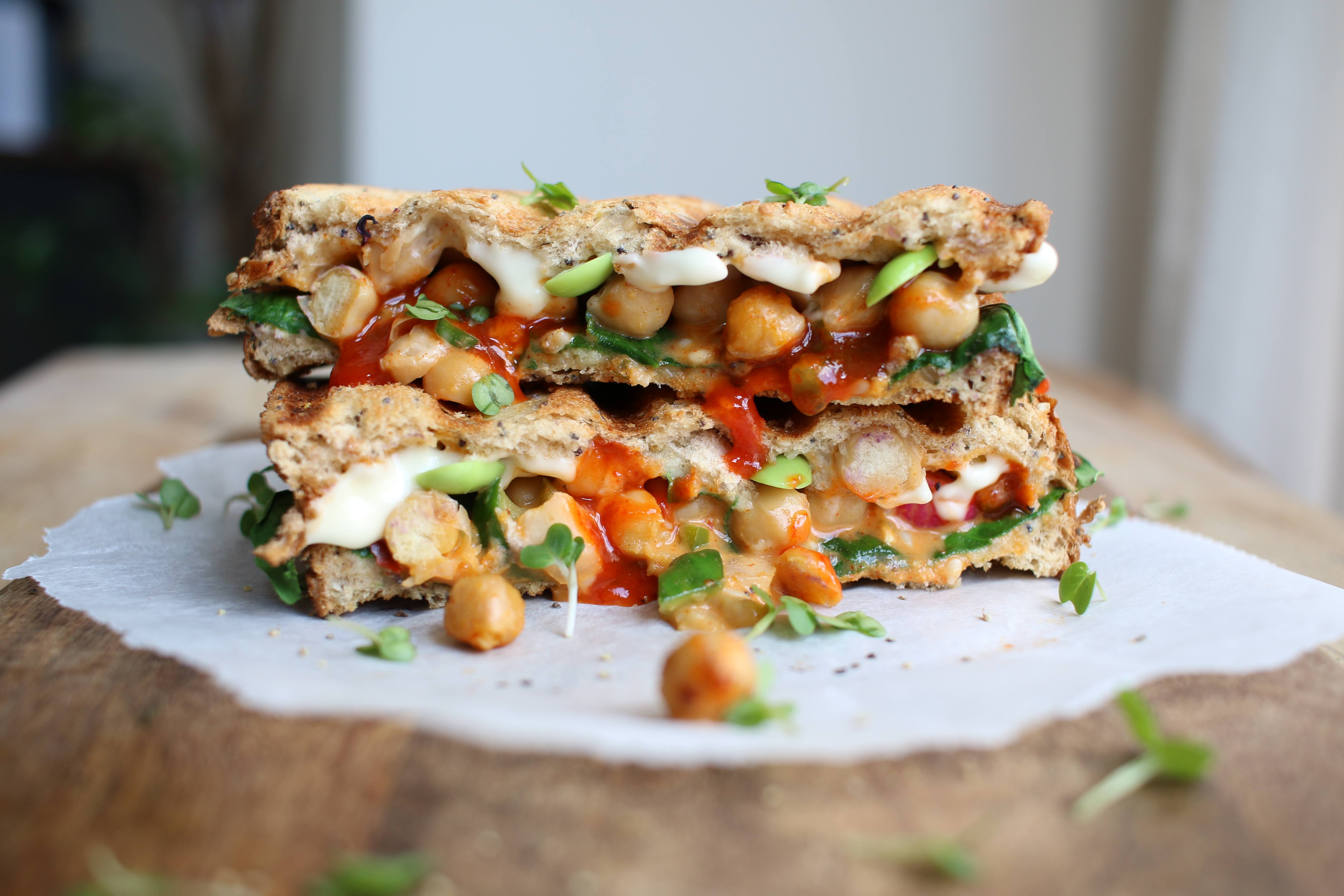 vegan toastie recipe 5 minute