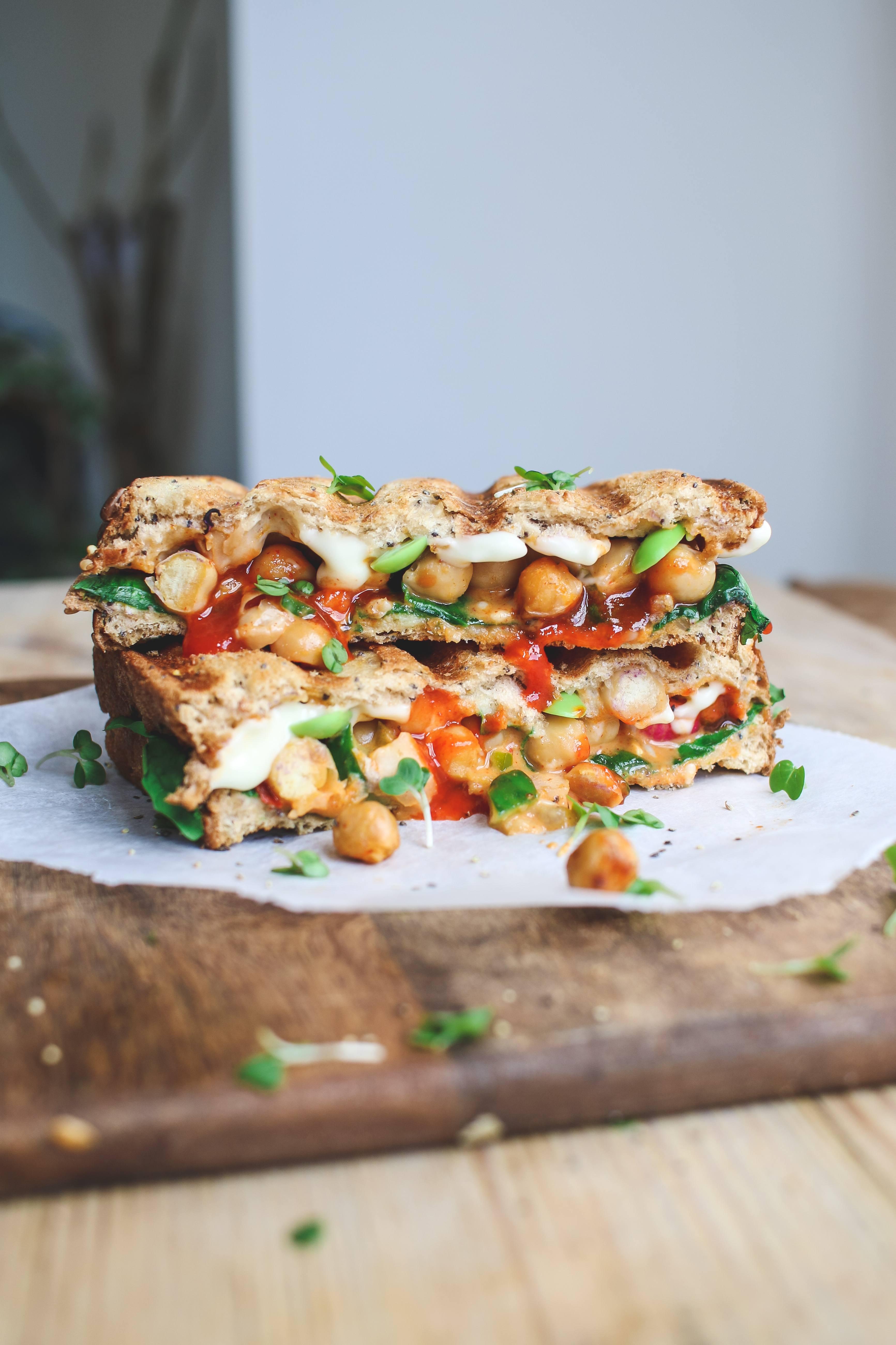 vegan toastie recipe
