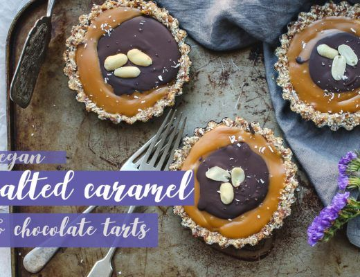 vegan salted caramel tart recipe