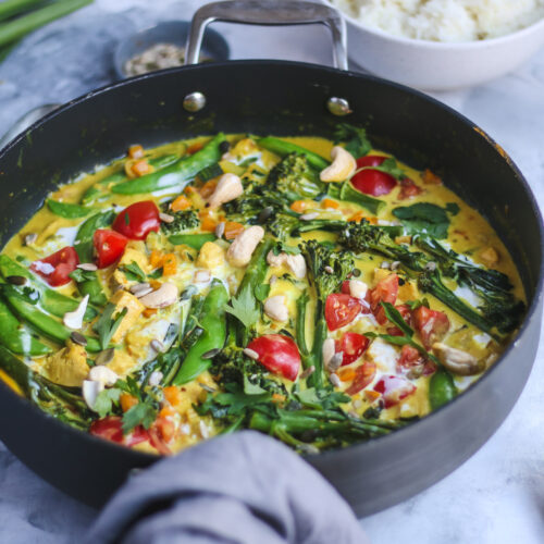 lemongrass & ginger cambodian style curry