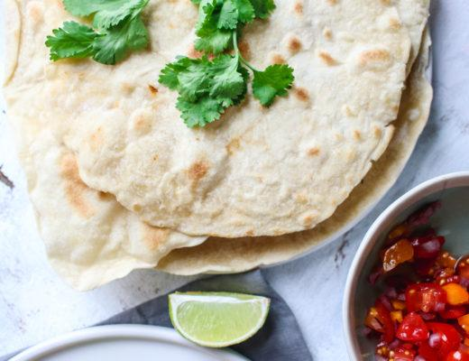 easy vegan tortilla recipe