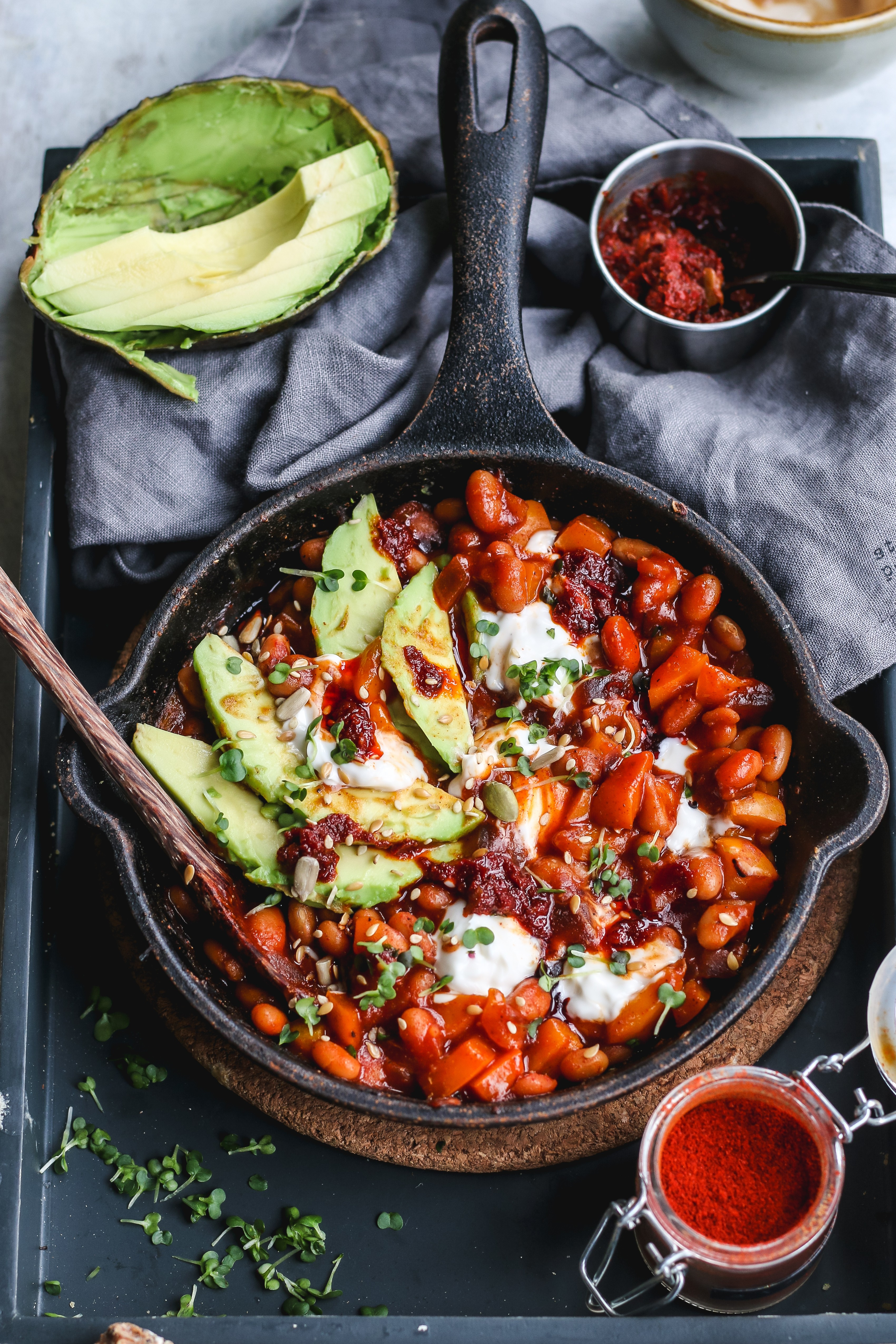 bean shakshuka recipe