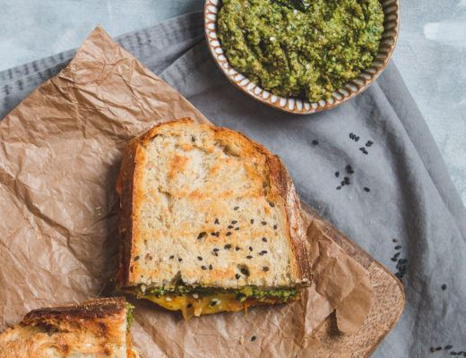 easy pine nut pesto recipe
