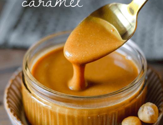 hazelnut butter caramel
