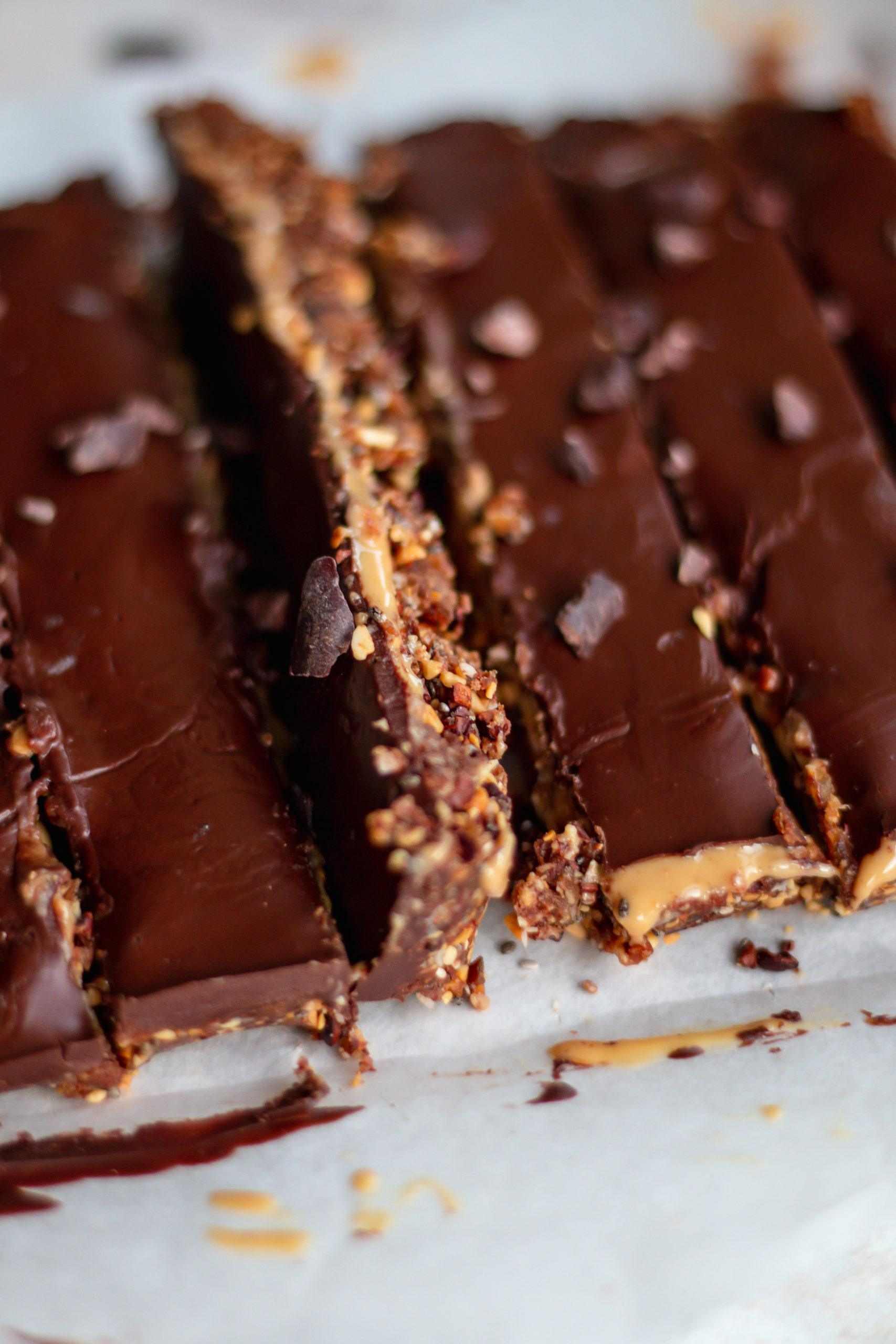peanut crunch bars chocolate