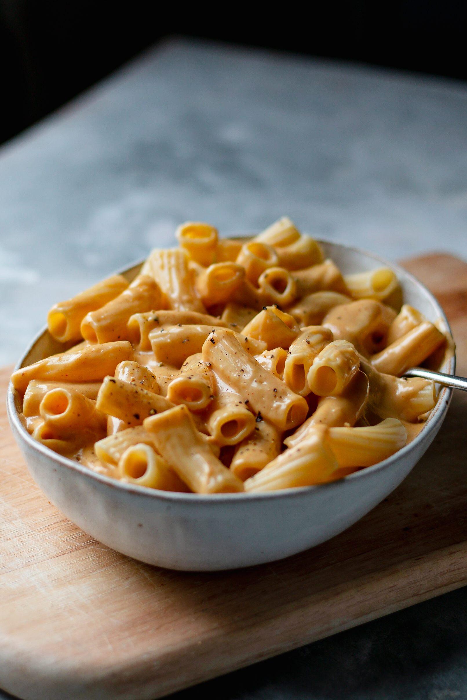 vegan cheesy pasta recipe