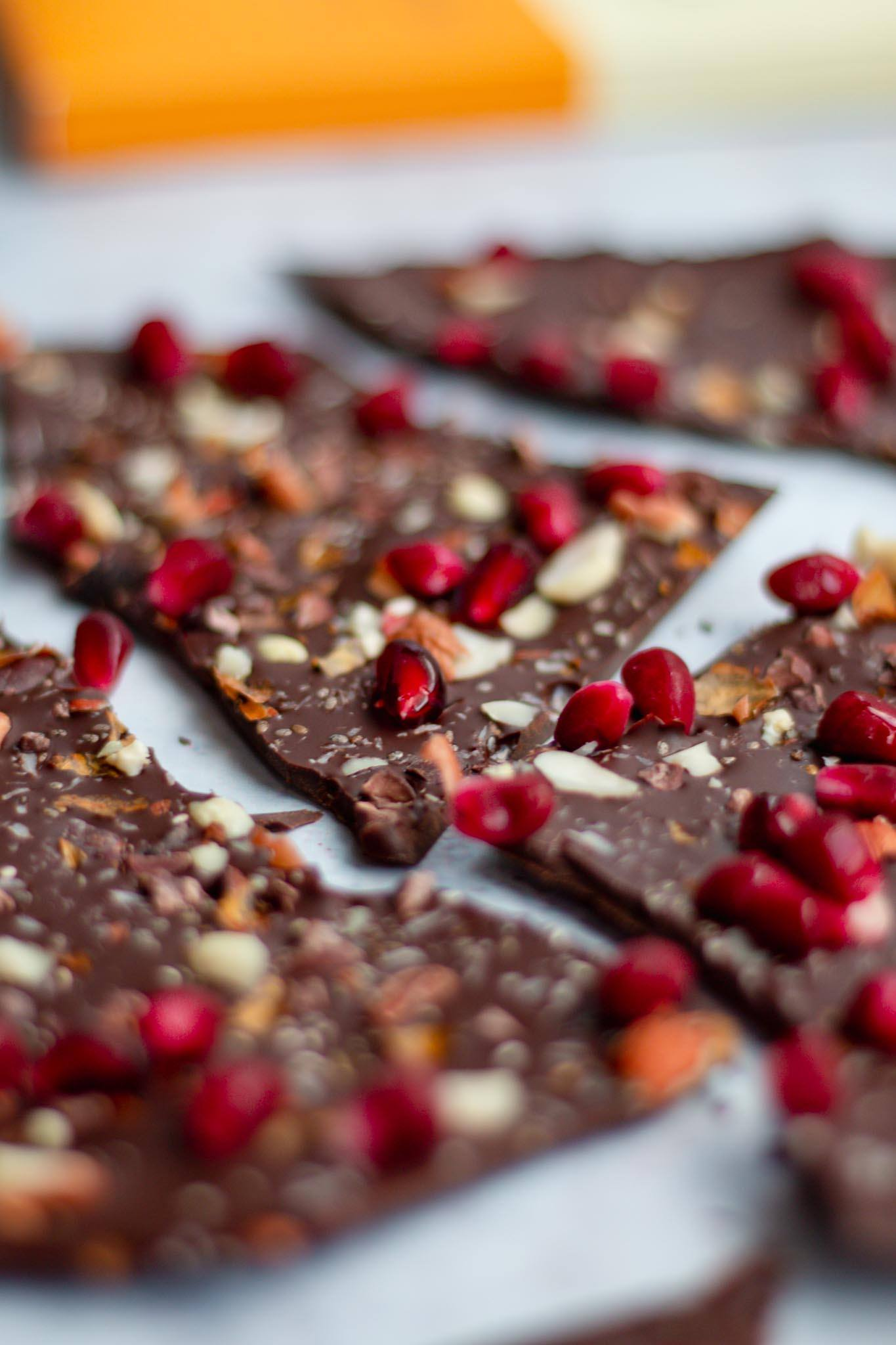 pomegranate nut pomegranate bark