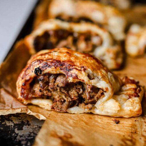 4 ingredient vegan sausage rolls recipe