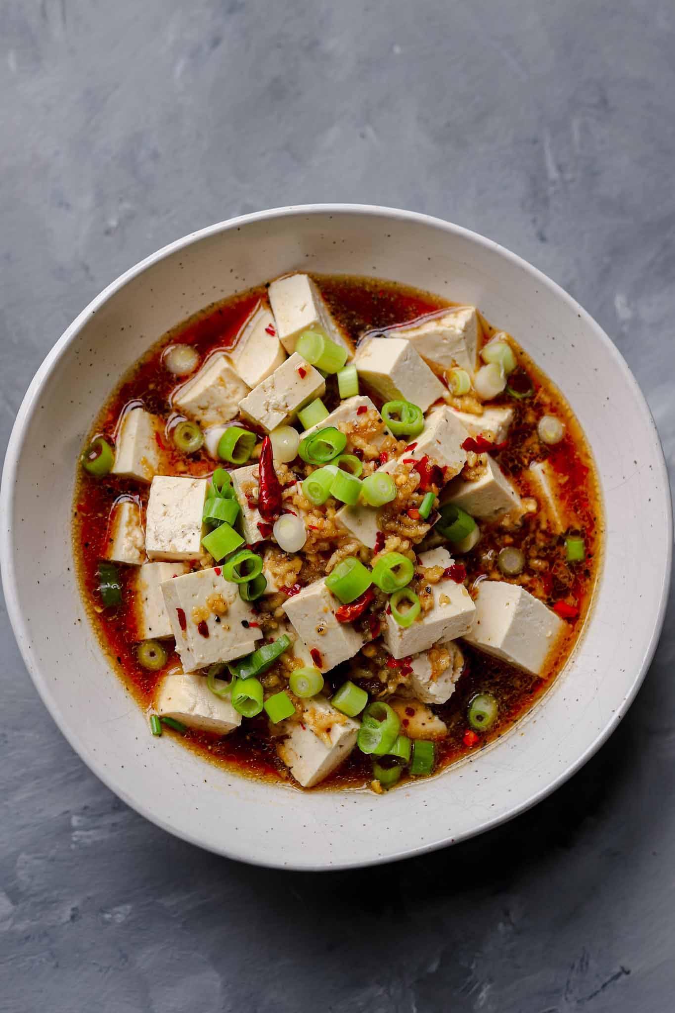 homemade szeuchuan sauce vegan recipe