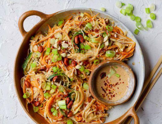 simple peanut recipe noodle