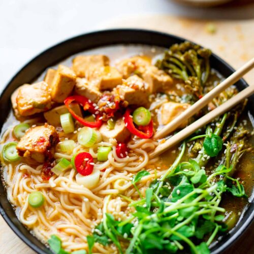 easy vegan ramen soup recipe