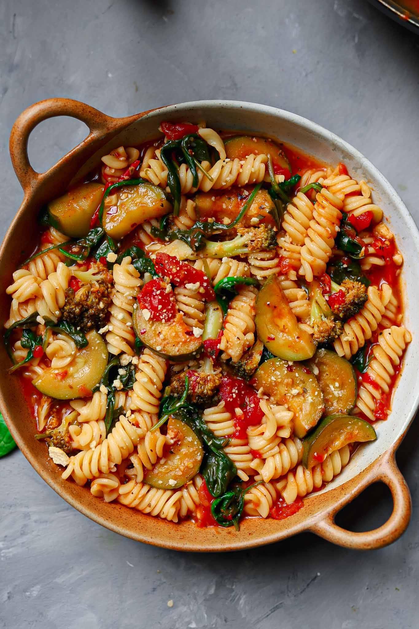vegan tomato pasta recipe