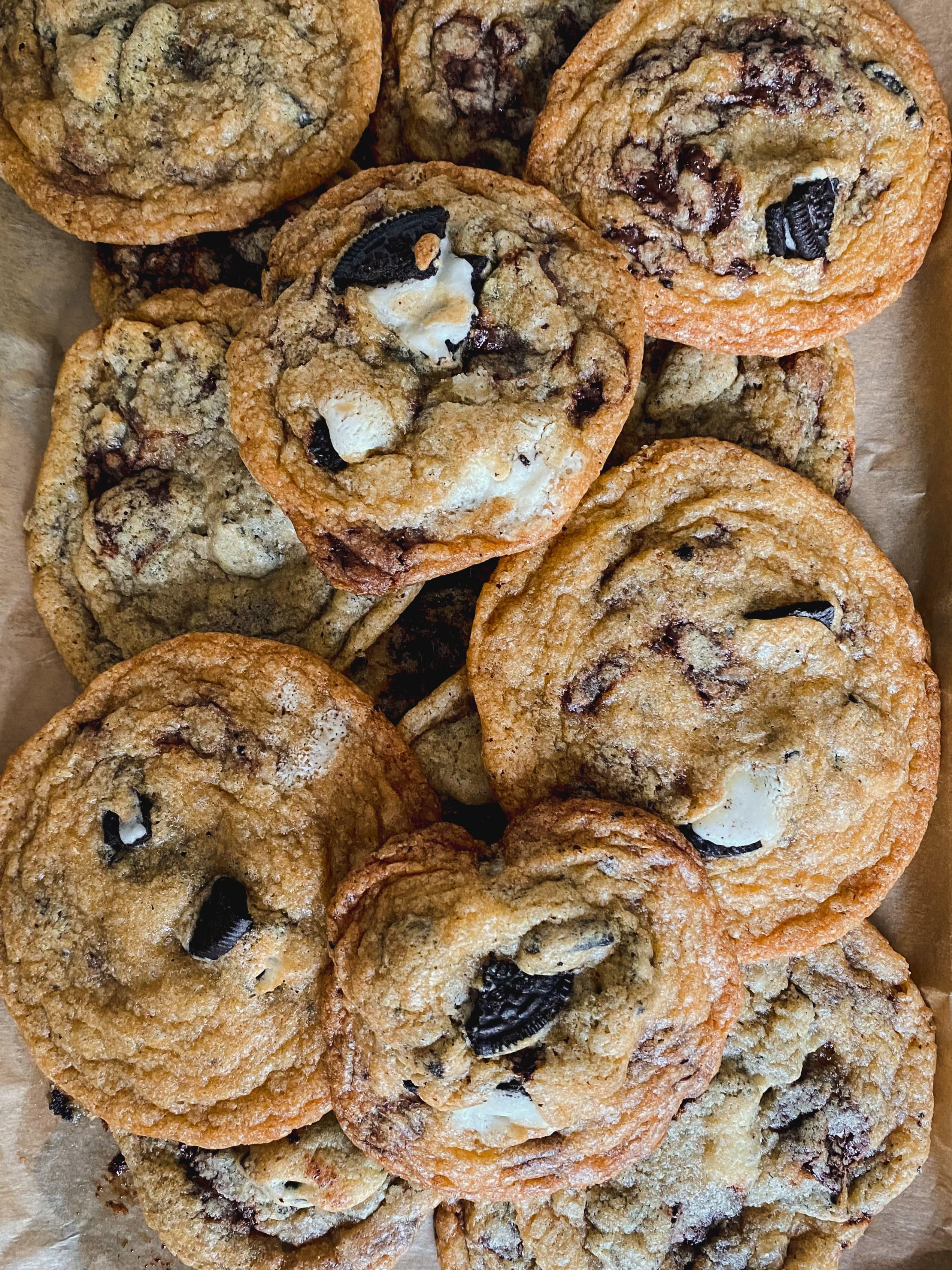 vegan oreo cookie