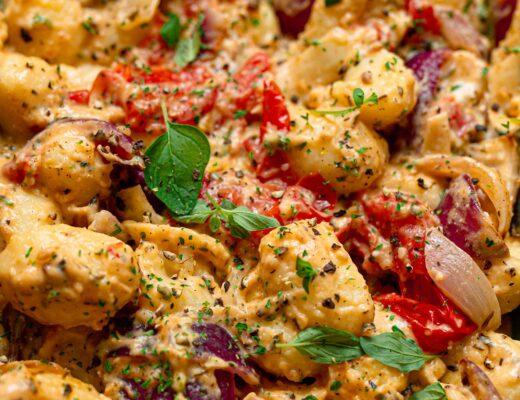 cream cheese vegan gnocchi