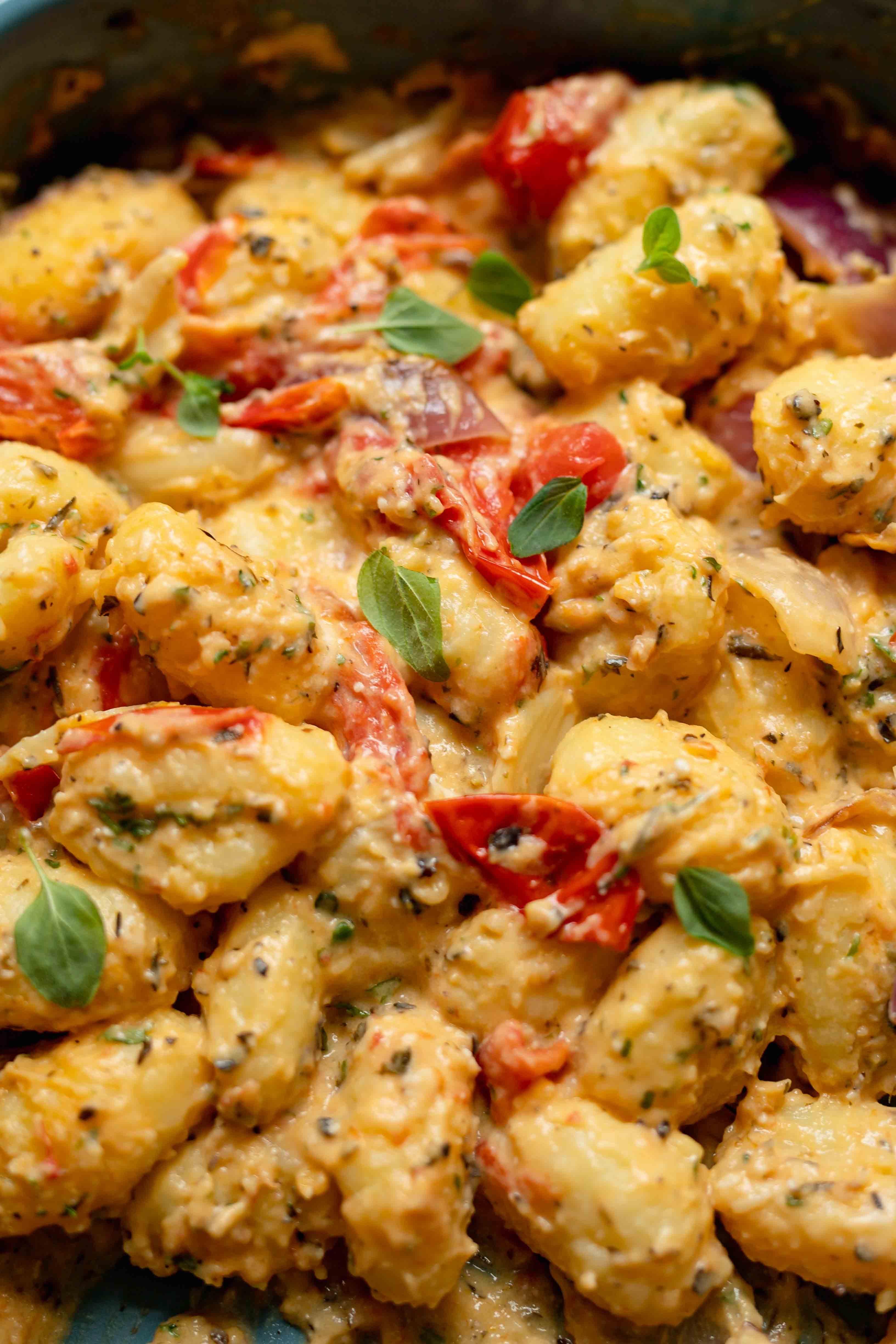 cream cheese gnocchi vegan recipe