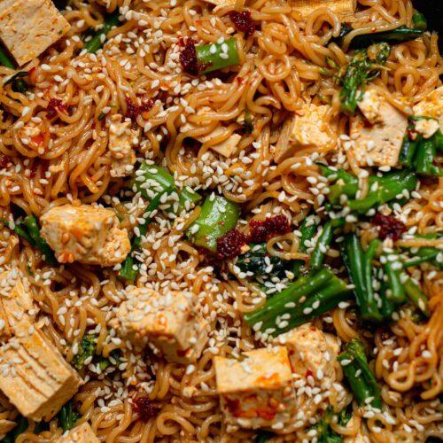 instant noodle hack vegan