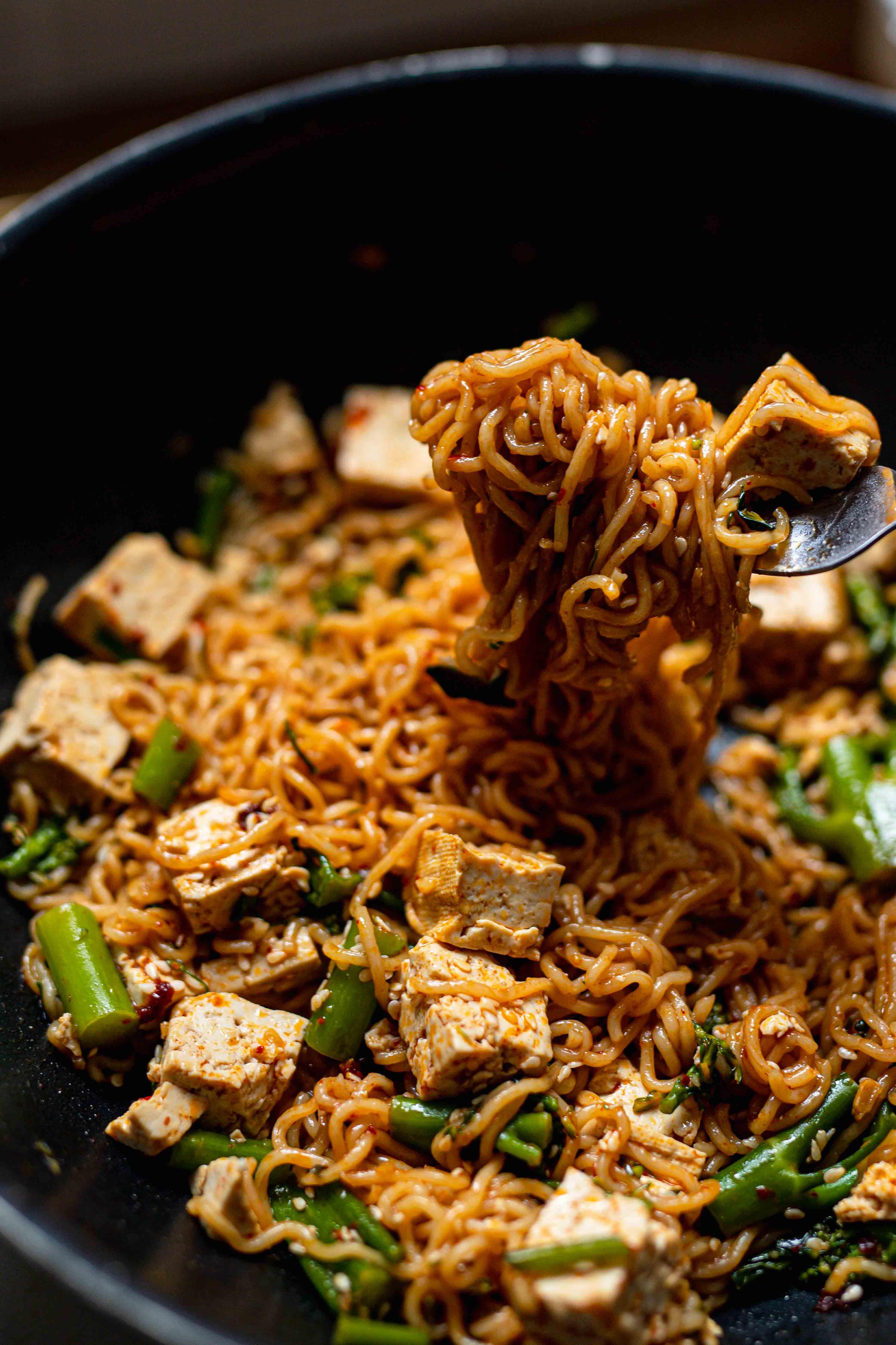 10 minute noodle hack